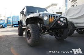 jeep hardtop custom 2016 sema cliffride jeep tj wrangler