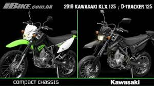 kawasaki d tracker 125 pics specs and list of seriess by year