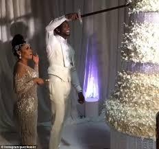 gucci mane and keyshia ka u0027oir reveal 75k wedding cake daily