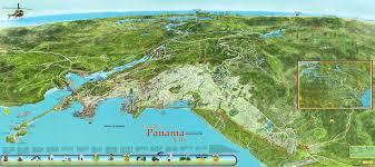 Panama City Map The Newly Rebuilt Town Of Panama City Aka Casco Viejo In 1673