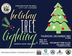 camden to host tree lighting ceremony city of camden