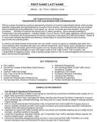 Supply Chain Coordinator Resume Sample by Top Transportation Resume Templates U0026 Samples