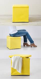 Yellow Storage Ottoman Bosnäs Ottoman With Storage Ransta Yellow Extra Storage Space
