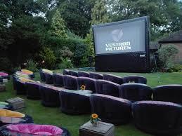 outside screen hire outside cinema screens inflatable screen hire