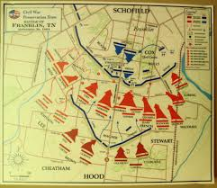 Battle Of New Orleans Map by Franklin Tn Ii