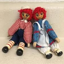 vintage ornaments raggedy andy dolls japan 4