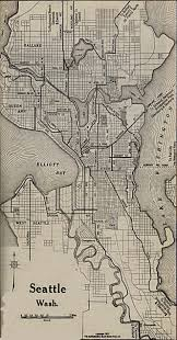 Federal Way Seattle Map by 1917 Map Of Seattle Indicates That Ravenna Ave Is The Road To
