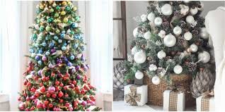 White Christmas Tree Decoration Ideas by Christmas Incredible Christmas Tree Decorating Ideas Pictures