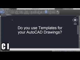 download video autocad how to create a new a4 template and a