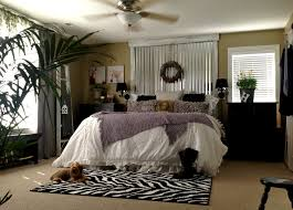 down to earth style industrial shab master bedroom