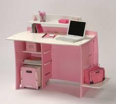 Pink Computer Desk All In Pink Office Works Pinterest Desk Shelves Pink Desk