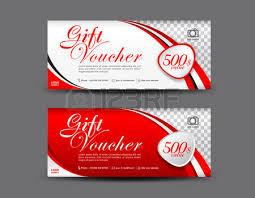 green gift voucher vector illustration green discount voucher template coupon design ticket gift voucher