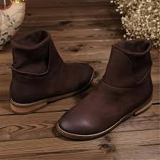 Comfortable Cowboy Boots For Walking Women U0027s Handmade Leather Ankle Boot Low Heel Comfortable Walking