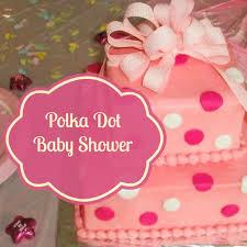 polka dot baby shower theme magickalideas com