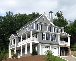 3 story homes plan 24358tw 3 story beauty for a view lot ground level
