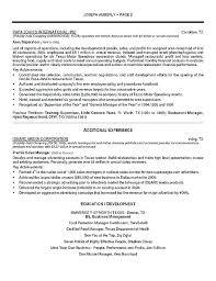 resume sample restaurant u2013 topshoppingnetwork com