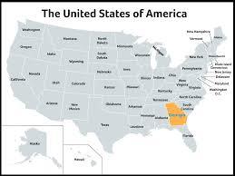 Okefenokee Swamp Map Newsela Georgia The Peach State