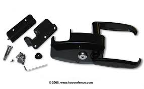 ornamag magnetic gate latch hoover fence company