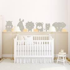 chambre bébé stickers stickers gris chambre bebe chaios com