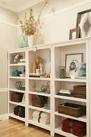 Decorating Bookshelves Ideas by Definitely Need To Do This Great Idea I Have All My Stuff Just