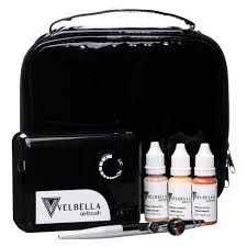 airbrush make up kit velbella airbrush