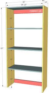 Diy Bookshelves Plans by Top 25 Best Bookshelf Plans Ideas On Pinterest Bookcase Plans