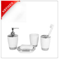 Acrylic Bathroom Accessories China Sales Acrylic Plastic Bathroom Accessories Set Ts8010 4