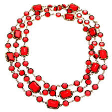 fashion jewelry red necklace images Gallery reflections jewelry jpg