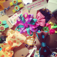 handmade hair bows martha s bows home martha s bows