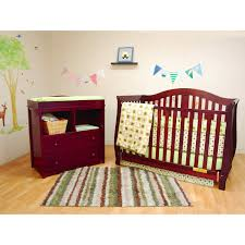 Brookline Convertible Crib by Sorelle Cape Cod Crib N Changer With Toddler Rail Hayneedle