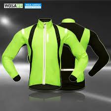 waterproof softshell cycling jacket aliexpress com buy wosawe soft shell fleece cycling jackets winter