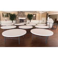 alera folding banquet table 72 x 29 platinum lifetime 72 round table 12 pack with cart