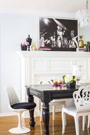 Black Dining Table Casual Goes Glam In This Designer U0027s Los Angeles Home Traditional