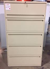 Lateral File Cabinet Pre Owned Office Furniture Thrifty Office Furniture