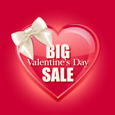big valentines day day big sale vector template vector festival free