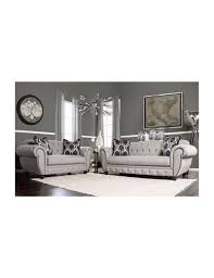 modern victorian furniture furniture of america living room modern victorian style gray fabric