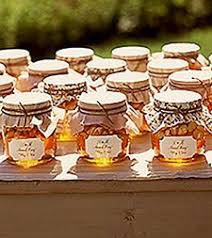 inspiration board country chic weddings favors honey and honey