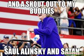 Satan Meme - and a shout out to my buddies saul alinsky and satan meme lying