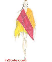 11 designers sketch katniss u0027 fire dress in u0027hunger games