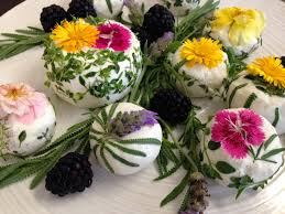 Edible Flowers Gourmet Goat Cheese With Edible Flowers