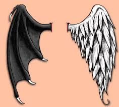 and evil wings by cheliz85 on deviantart