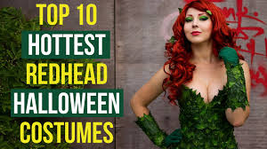 top 10 hottest redhead halloween costumes youtube