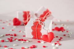 valentine presents valentine presents stock photo image of paperbag open 7887336