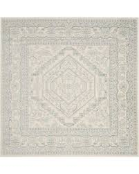 6 Square Area Rug Get The Deal Safavieh Adirondack Traditional Floral 6 Square