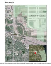 Ohare Airport Map Bensenville Il Community Uprooted Eminent Domain In The U S