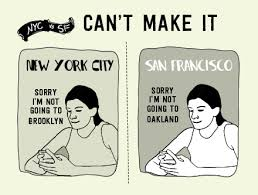 new york city vs san francisco part deux