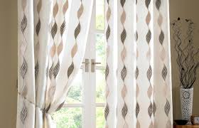 kitchen window treatments modern curtains surprising modern window curtains for living room