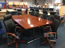 Antique Boardroom Table Boardroom Tables New Used Office Furniture Glasgow Scotland