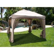 garden 10x10 canopy gazebo hardtop gazebo 10x10 hampton bay