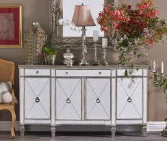 unique dressing room ideas with glass wooden frame mirrored buffet